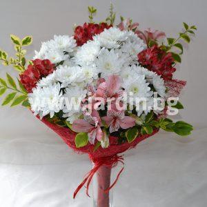 Bouquet Alstroemeria and Chrysanthemum