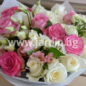 Букет Рози и Альстромерий №2