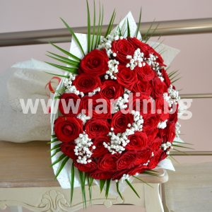 Bouquet red roses №9