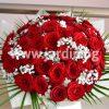 Букет червени рози №9