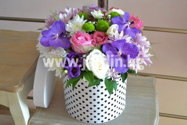 Цветя в Кутия №6