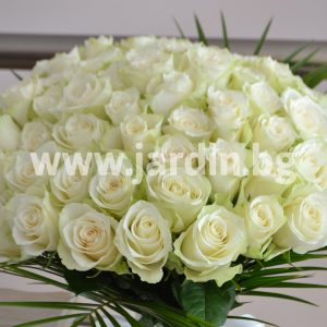 Bouquet White Roses №9