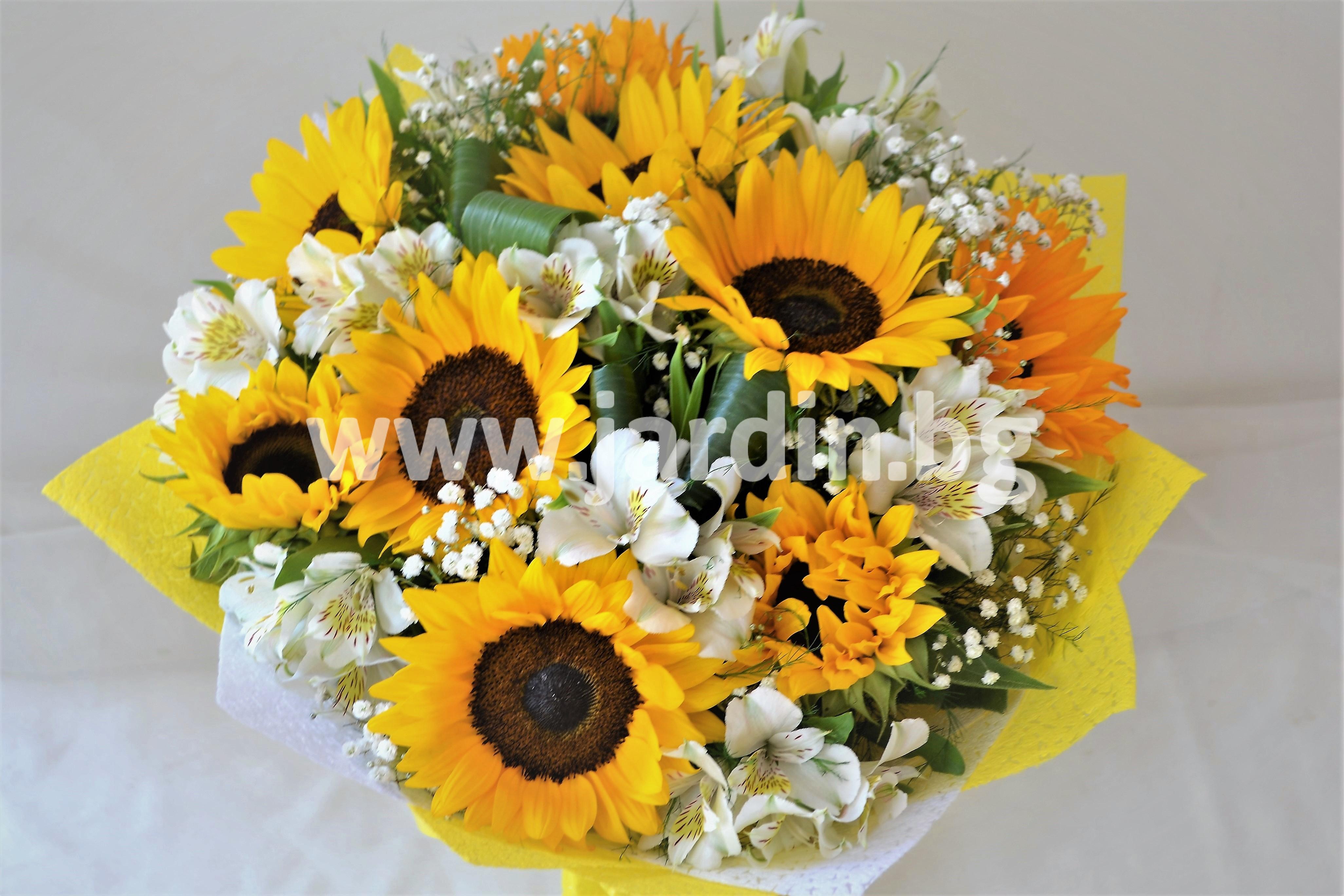 доставка-цветя-букети-слънчогледи (1)