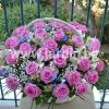 Кошница Розови Рози №2