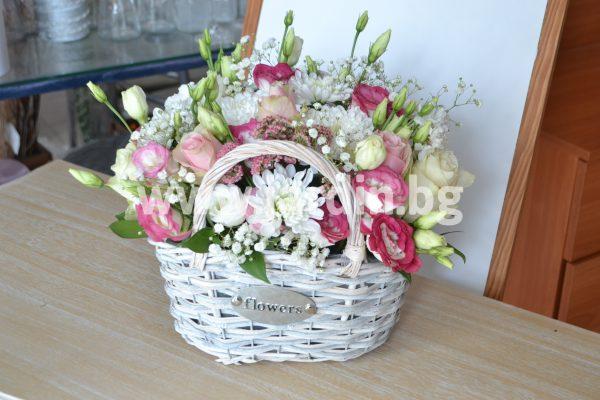 Кошница с Цветя №3
